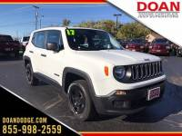 Used 2017 Jeep Renegade Sport 4x4 SUV in Rochester, NY
