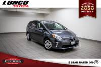 Certified Used 2014 Toyota Prius v Three in El Monte