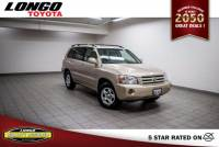 Used 2004 Toyota Highlander 4-Cyl in El Monte
