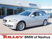2015 Used BMW 5 Series For Sale Manchester NH | VIN:WBA5B3C57FD543465
