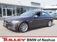 2014 Certified Used BMW 5 Series Sedan Dark Graphite For Sale Manchester NH & Nashua | Stock:B171068A
