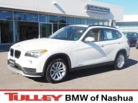 2015 Certified Used BMW X1 SUV xDrive28i Alpine White For Sale Manchester NH & Nashua | Stock:B171217A
