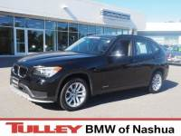 2015 Certified Used BMW X1 SUV xDrive28i Jet Black For Sale Manchester NH & Nashua | Stock:MP2334A