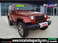 2012 Jeep Wrangler Sahara SUV in League City