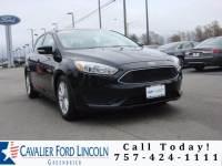 2016 Ford Focus SE Sedan I4 16V GDI DOHC Flexible Fuel