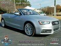 Certified 2015 Audi S5 Premium Plus Cabriolet in Atlanta GA