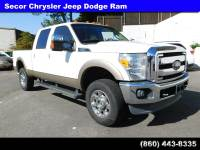 Used 2012 Ford Super Duty F-350 SRW Lariat 4WD Crew Cab 156 Lariat For Sale in New London | Near Norwich, CT