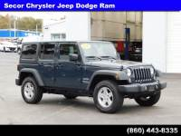 Used 2017 Jeep Wrangler Unlimited Sport Sport 4x4 For Sale in New London | Near Norwich, CT