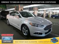 Certified Pre-Owned 2016 Ford Fusion Energi Titanium Sedan I-4 cyl in Ashland, VA
