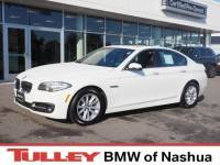 Certified Used 2015 BMW 5 Series xDrive Sedan in Manchester NH