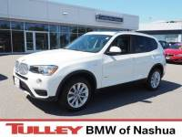 Certified Used 2017 BMW X3 xDrive28i SAV in Manchester NH