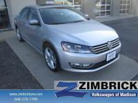 Used 2015 Volkswagen Passat 4dr Sdn 1.8T Auto SE w/Sunroof & Na Car in Madison, WI