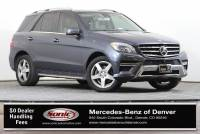 Pre-Owned 2015 Mercedes-Benz M-Class ML 400 4MATIC SUV in Denver