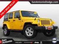 2015 Jeep Wrangler Unlimited Sahara 4x4 SUV in San Antonio
