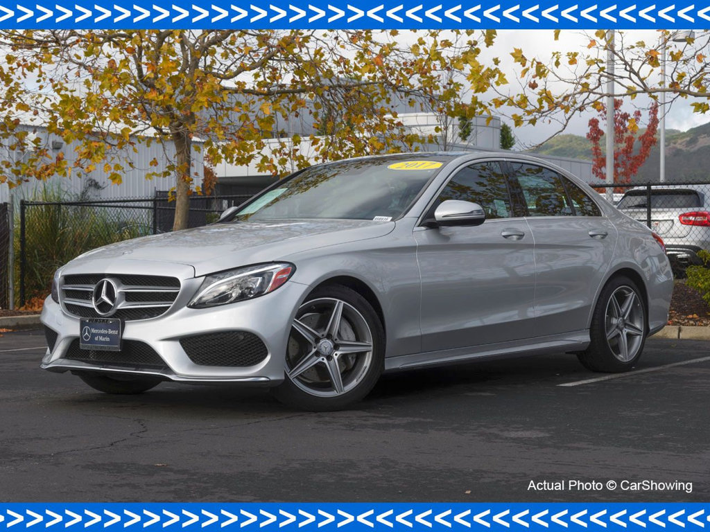 Photo Certified Pre-Owned 2017 Mercedes-Benz C-Class CERTIFIED 2017 MB C 300 Sport Package w Incredible Lease Options Rear Wheel Drive Sedan