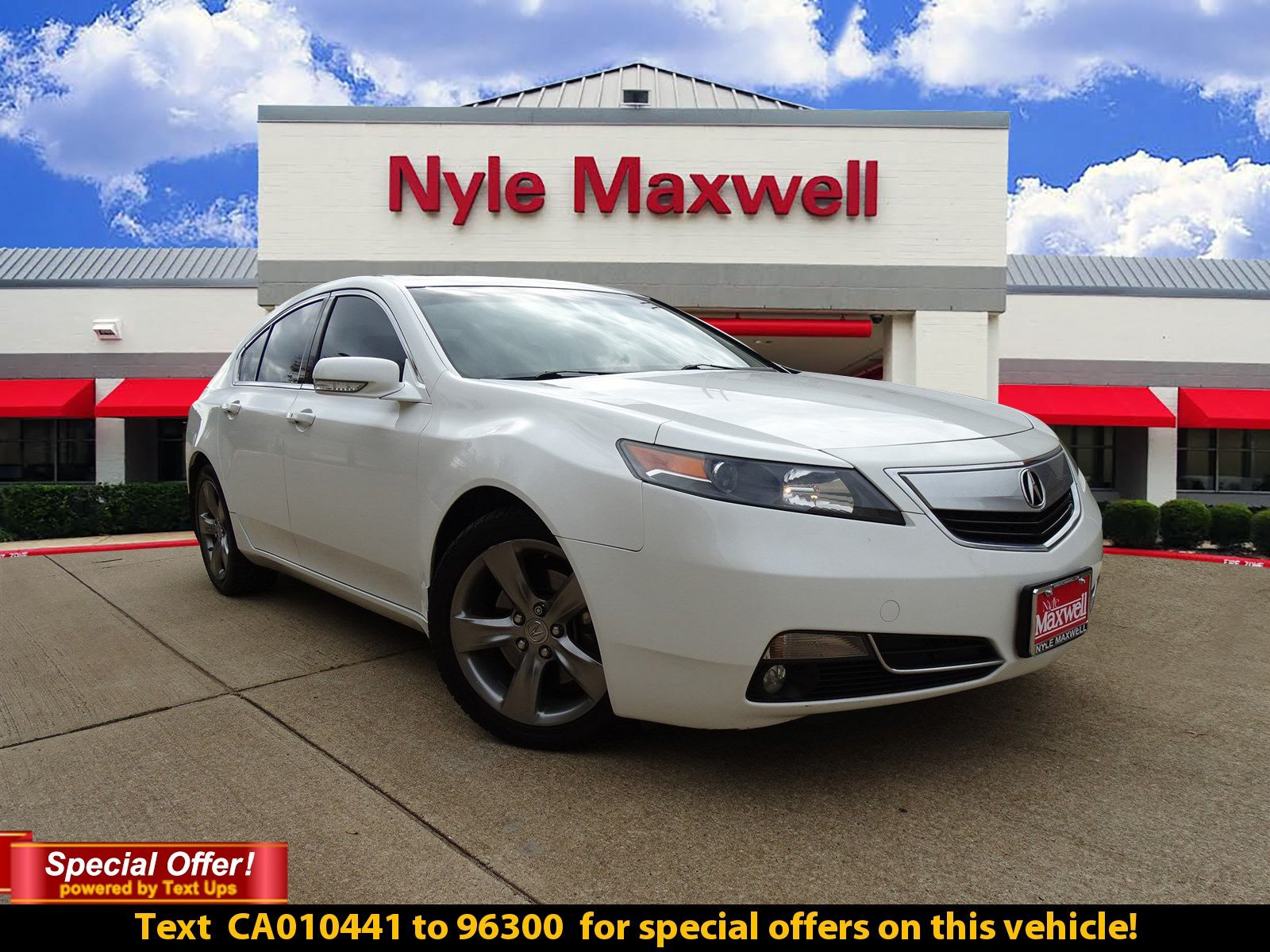 Photo DEALER CERTIFIED PRE-OWNED 2012 ACURA TL TECH AUTO DEALER CERTIFIED WITH NAVIGATION  AWD