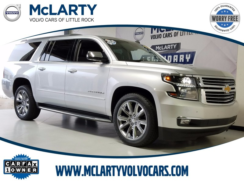 Photo Pre-Owned 2015 CHEVROLET SUBURBAN 2WD 4DR LTZ Rear Wheel Drive Sport Utility Vehicle