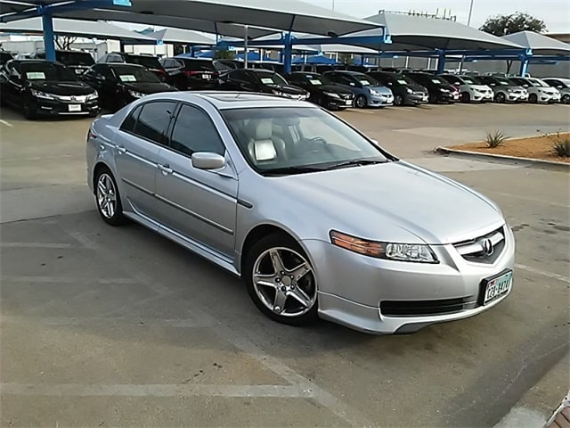 Photo 2005 Acura TL Base For Sale Near Fort Worth TX  DFW Used Car Dealer