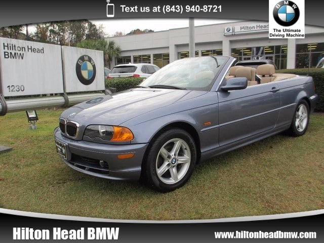 Photo 2002 BMW 325Cic 325Ci  Clean Trade In  5-Speed Manual Transmissi Convertible Rear-wheel Drive