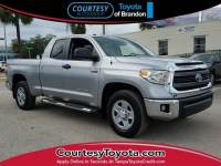 Certified 2014 Toyota Tundra SR5 5.7L V8 Truck Double Cab in Jacksonville FL