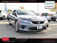 Certified Pre-Owned 2015 Honda Accord Coupe 2dr I4 CVT LX-S in Temecula