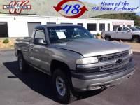 Pre-Owned 2002 Chevrolet Silverado 1500 Short Bed 4WD 4WD