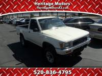 1990 Toyota Pickup DLX Reg. Cab Short Bed 4WD
