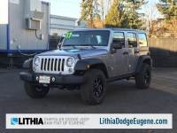 2017 Jeep Wrangler Unlimited Sport SUV in Eugene