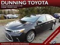 Used 2016 Toyota Avalon Limited For Sale In Ann Arbor