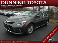 Used 2016 Toyota Avalon Hybrid Limited For Sale In Ann Arbor