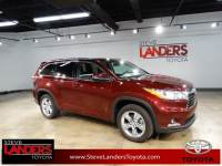 2015 Toyota Highlander Limited SUV 6-Speed Automatic Electronic with Overdrive