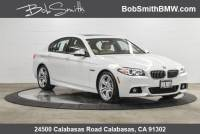 Certified Used 2015 BMW 5 Series 4dr Sdn 535i RWD