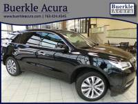 Certified Pre-Owned 2015 Acura MDX Tech Pkg SUV in Minneapolis, MN