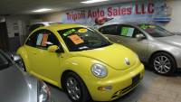 2002 Volkswagen New Beetle 2dr GLS 1.8T Turbo Coupe