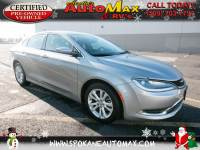 2015 Chrysler 200 Limited Front Wheel Drive