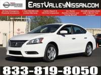 Certified 2015 Nissan Sentra SV 4dr Car in Mesa