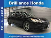 Certified Pre-Owned 2016 Honda Accord LX 4D Sedan