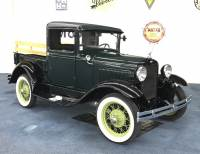 1930 FORD MODEL A CLOSED CAB PICK-UP