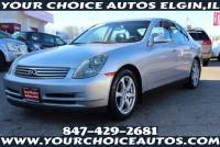 2004 Infiniti G35 Rwd 4dr Sedan w/Leather