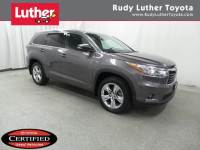 2015 Toyota Highlander AWD V6 Limited SUV