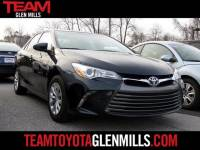 Certified Used 2016 Toyota Camry LE for sale in Glen Mills PA