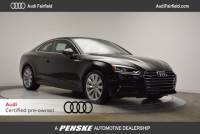 Certified Pre-Owned 2018 Audi A5 Coupe 2.0T Coupe in Fairfield, CT