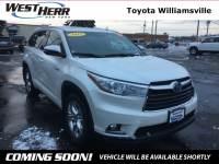 2015 Toyota Highlander Hybrid Hybrid Limited Platinum SUV