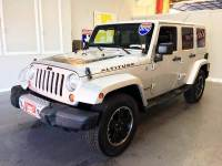 2012 Jeep Wrangler Unlimited 4x4 Sahara 4dr SUV