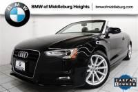 2015 Audi A5 2.0T Premium Plus (Tiptronic) Convertible