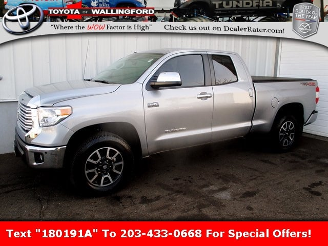 Photo Certified Used 2017 Toyota Tundra Limited For Sale in Wallingford CT  5TFBY5F18HX597934