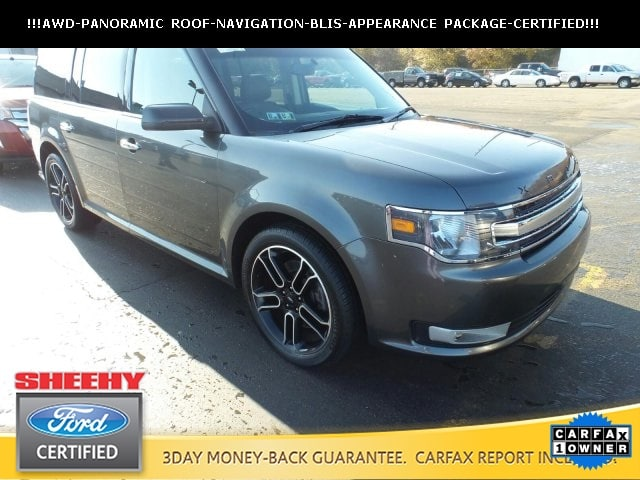 Photo Certified Pre-Owned 2015 Ford Flex SEL SUV V-6 cyl in Ashland, VA