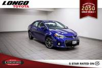 Certified Used 2015 Toyota Corolla CVT S Plus in El Monte