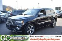 Certified Used 2015 Jeep Grand Cherokee Overland 4WD Overland For Sale | Hempstead, Long Island, NY