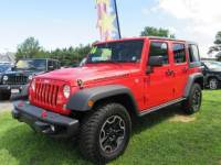 Used 2016 Jeep Wrangler Unlimited Rubicon 4x4 SUV for sale in Riverhead NY